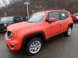 2020 Omaha Orange Jeep Renegade Latitude 4x4 #136442159