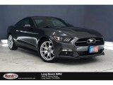 2015 Magnetic Metallic Ford Mustang EcoBoost Premium Coupe #136463340