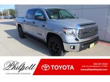2020 Cement Toyota Tundra TSS Off Road CrewMax #136469029