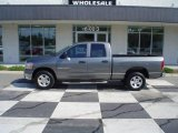 2006 Mineral Gray Metallic Dodge Ram 1500 SLT Quad Cab #13616578