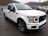 2020 Ford F150 STX SuperCab 4x4 Front 3/4 View