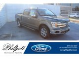 2020 Silver Spruce Ford F150 Lariat SuperCrew 4x4 #136497234