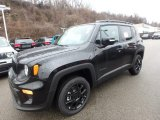 2020 Black Jeep Renegade Latitude 4x4 #136497263