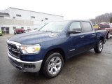 2020 Patriot Blue Pearl Ram 1500 Big Horn Crew Cab 4x4 #136497220