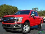 2020 Race Red Ford F150 XLT SuperCrew 4x4 #136519562