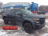 2020 Shadow Gray Metallic Chevrolet Silverado 1500 Custom Trail Boss Crew Cab 4x4 #136519725