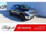 2020 Midnight Black Metallic Toyota Tundra TSS Off Road CrewMax 4x4 #136534922