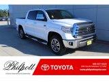 2020 Super White Toyota Tundra SR5 CrewMax 4x4 #136534919