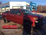 2020 Cajun Red Tintcoat Chevrolet Silverado 1500 Custom Trail Boss Crew Cab 4x4 #136550352