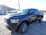 2020 Diamond Black Crystal Pearl Ram 1500 Laramie Crew Cab 4x4 #136550305