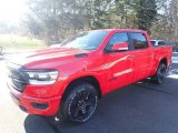 2020 Flame Red Ram 1500 Big Horn Crew Cab 4x4 #136569387