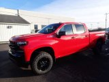 2020 Red Hot Chevrolet Silverado 1500 LT Trail Boss Crew Cab 4x4 #136580895