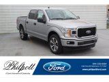 2020 Iconic Silver Ford F150 STX SuperCrew #136601866