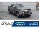 2020 Silver Spruce Ford F150 Lariat SuperCrew #136601865