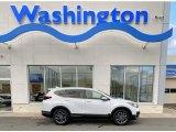 2020 Platinum White Pearl Honda CR-V EX AWD #136619840