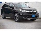 2020 Crystal Black Pearl Honda CR-V EX #136645514
