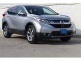 2020 Lunar Silver Metallic Honda CR-V EX #136645512