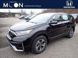 2020 Crystal Black Pearl Honda CR-V LX AWD #136654260