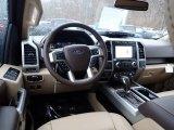 2020 Ford F150 Lariat SuperCrew 4x4 Medium Light Camel Interior