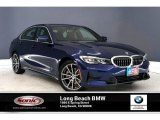 2020 Mediterranean Blue Metallic BMW 3 Series 330i Sedan #136654320