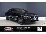 2020 Jet Black BMW 3 Series 330i Sedan #136654317