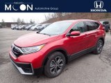 2020 Radiant Red Metallic Honda CR-V EX-L AWD #136654264