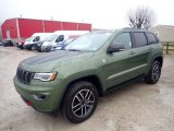 2020 Jeep Grand Cherokee Green Metallic