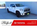 2020 Super White Toyota Tundra TSS Off Road CrewMax #136671192