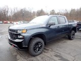 2020 Shadow Gray Metallic Chevrolet Silverado 1500 Custom Trail Boss Crew Cab 4x4 #136671152
