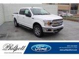 2020 Oxford White Ford F150 XLT SuperCrew 4x4 #136671189