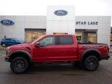 2020 Rapid Red Ford F150 SVT Raptor SuperCrew 4x4 #136694160