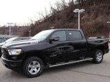 2020 Diamond Black Crystal Pearl Ram 1500 Big Horn Crew Cab 4x4 #136709583