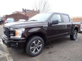 2020 Ford F150 Magma Red
