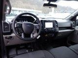 2020 Ford F150 STX SuperCrew 4x4 Medium Earth Gray Interior