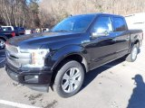 2020 Ford F150 Platinum SuperCrew 4x4 Front 3/4 View