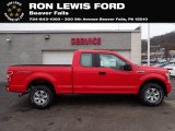 2020 Race Red Ford F150 XL SuperCab 4x4 #136709457