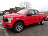 2020 Ford F150 XL SuperCab 4x4 Front 3/4 View