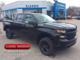 2020 Black Chevrolet Silverado 1500 Custom Trail Boss Crew Cab 4x4 #136726949