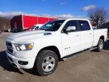 2020 Bright White Ram 1500 Big Horn Crew Cab 4x4 #136726874