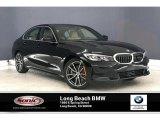 2020 Jet Black BMW 3 Series 330i Sedan #136726902
