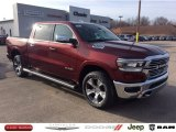 2020 Delmonico Red Pearl Ram 1500 Laramie Crew Cab 4x4 #136743939