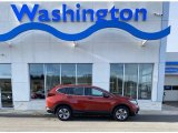2020 Radiant Red Metallic Honda CR-V LX AWD #136743814