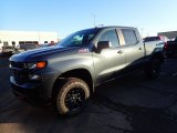 2020 Shadow Gray Metallic Chevrolet Silverado 1500 Custom Trail Boss Crew Cab 4x4 #136743853