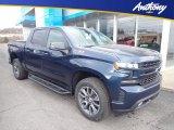 2020 Northsky Blue Metallic Chevrolet Silverado 1500 RST Crew Cab 4x4 #136763056