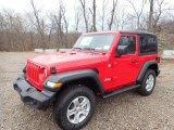 2020 Jeep Wrangler Firecracker Red