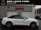 2019 Oxford White Ford Mustang GT Premium Convertible #136762855
