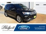 2019 Agate Black Ford Explorer Limited #136762923