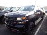 2020 Black Chevrolet Silverado 1500 Custom Trail Boss Crew Cab 4x4 #136790443