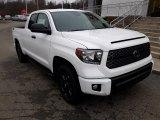 2020 Super White Toyota Tundra SR Double Cab 4x4 #136813330