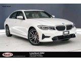 2019 Mineral White Metallic BMW 3 Series 330i Sedan #136813349